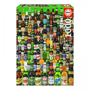 Beers - 1000 piece Jigsaw Puzzle