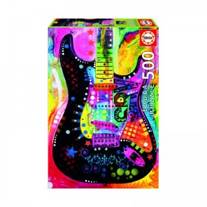 Lenny Strat Dean Russo - 500 piece Jigsaw Puzzle