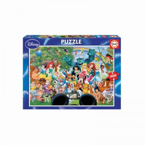 The Marvellous World of Disney - 1000 piece Jigsaw Puzzle