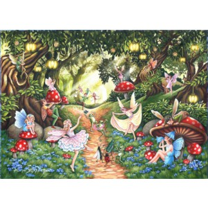 Faerie Dell - Big 500 piece quality puzzle designed by House Of Puzzles