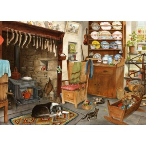 Fisherman's Cottage - Big 500 piece quality puzzle designed by House Of Puzzles