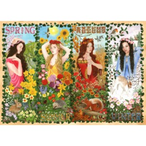 Four Seasons - 1000 piece quality puzzle designed by House Of Puzzles