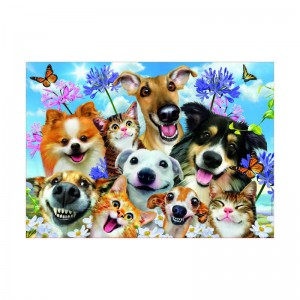 Educa Borras - Fun in the Sun Selfie - 500 piece Jigsaw Puzzle