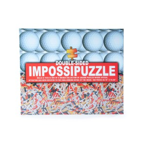 Golf Ball & Tees - Double Sided Jigsaw Puzzle