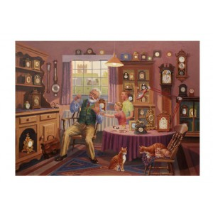 Grandfather Time - 1000 piece quality puzzle designed by House Of Puzzles