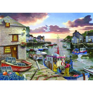 Harbour Lights - Big 250 Piece quality puzzle by House Of Puzzles