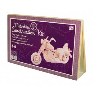 Motorbike - Wooden Construction Kit