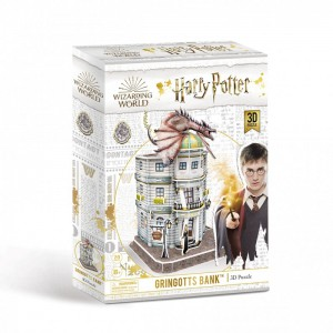 Harry Potter - Diagon Alley Gringotts Bank 3D Puzzle