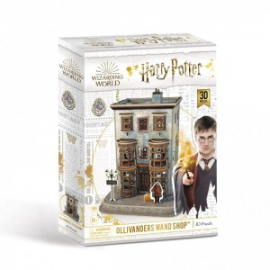 Harry Potter - Diagon Alley Olivanders Wand Shop 3D Puzzle