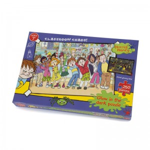 Horrid Henry Glow in the Dark - Classroom Chaos 250 piece Puzzle