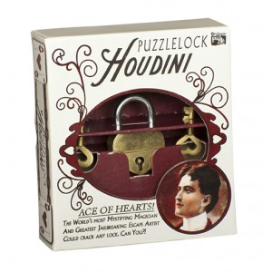 Houdini Puzzle Lock - Ace Of Hearts