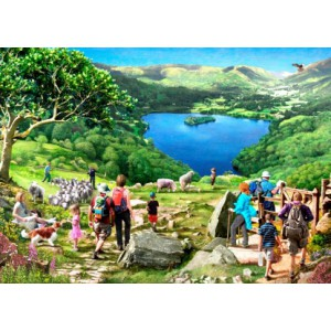 Lake View 1000 piece puzzle