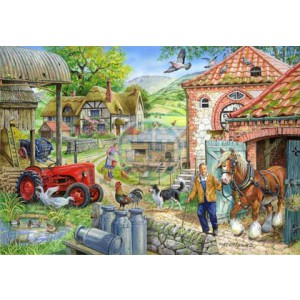 Manor Farm 1000 piece puzzle