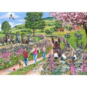 Mindy, Muffin & Mo - Big 500 piece quality puzzle designed by House Of Puzzles