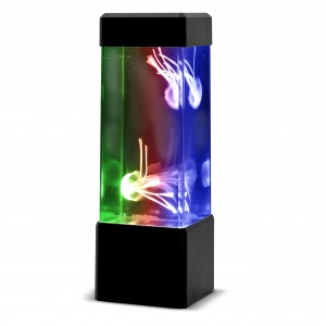 Neon Jelly Fish Tank
