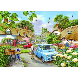 Morning Fresh - Big 500 piece quality puzzle designed by House Of Puzzles