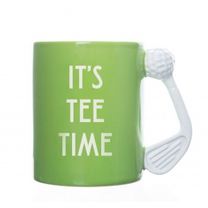 It's Tee Time - Golf Mug