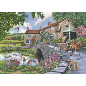 Old Mill 1000 piece puzzle