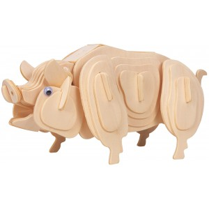 Paul The Pig - Wooden Construction Kit