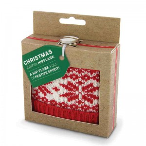 Christmas Jumper Hip Flask