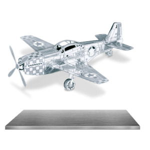 Mustang P-51 - Metal Earth Model
