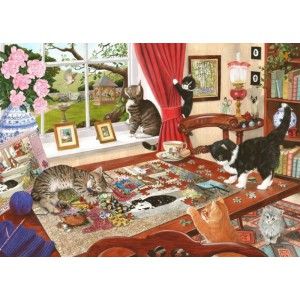Puzzling Paws - 1000 piece quality puzzle designed by House Of Puzzles