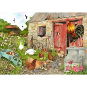 Ruling The Roost - Big 500 piece quality puzzle designed by House Of Puzzles
