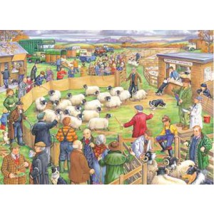 Big Sheep Sale - 250 Piece quality puzzle by House Of Puzzles