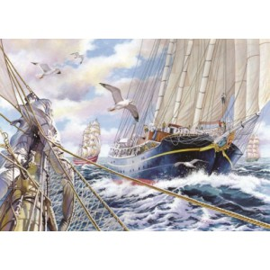 Steady As She Goes! Big 500 piece quality puzzle designed by House Of Puzzles