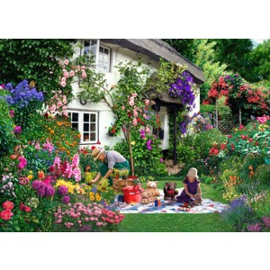 Teddy Bears Picnic - Big 500 piece quality puzzle designed by House Of Puzzles