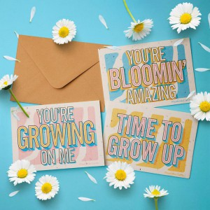 PLANTABLE CARDS - ECO FRIENDLY SEED PAPER