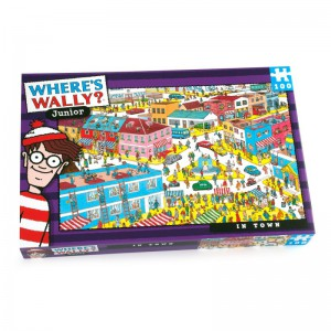 Where's Wally In Town Puzzle - 100 piece Puzzle
