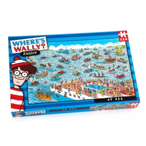 Where's Wally At Sea 250 piece Puzzle
