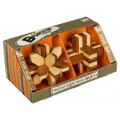Set Of 2 - Bamboo Puzzles