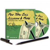 *Pen Thru Bill Illusion & More