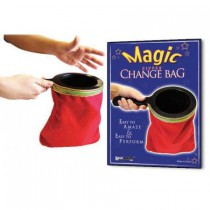 *Magic Zipper Change Bag (Red)