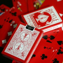 Reversed Back Bicycle Deck - Red (Red Deck 2nd Generation)