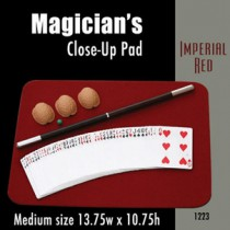 """Medium Size Close-up Pad (Imperial Red) 13.75"""" x 10.75"""""""
