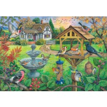 Bird Table - Big 500 piece quality puzzle designed by House Of Puzzles