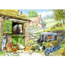 Down On The Farm - Big 250 Piece quality puzzle by House Of Puzzles