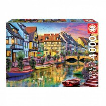 GO!        Trade About us Contact us Sign in   Cart (empty)    > Family Puzzles>Educa Borras - Colmar Canal in France 4000 piece Jigsaw Puzzle  Family Puzzles  Educa Borras - Colmar Canal in France 4000 piece Jigsaw Puzzle