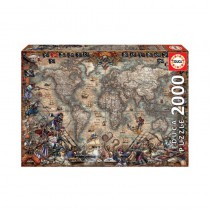 Educa Borras - Pirates Map 2000 piece Jigsaw Puzzle