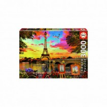 Sunset in Paris - 3000 piece Jigsaw Puzzle