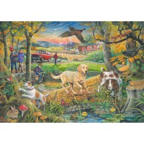 Evening Walk - Big 250 Piece quality puzzle by House Of Puzzles