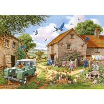 Farmers Wife Big 500 piece quality puzzle designed by House Of Puzzles