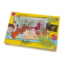 Horrid Henry Glow in the Dark Face Off 100 piece Puzzle