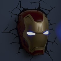 Iron Man Mask - 3D FX Light