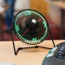 Desktop LED Fan