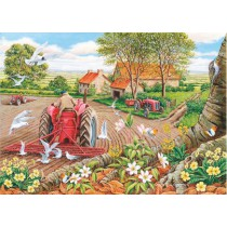 Red Harrows - Big 500 piece quality puzzle designed by House Of Puzzles