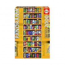Soft Cans Panorama 2000 piece Jigsaw Puzzle